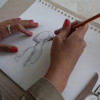 No Fear Art with Lori Pratico - Drawing Session