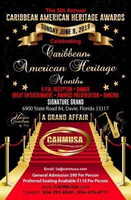 5th Annual Caribbean American Heritage Awards Banq...