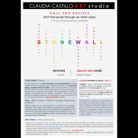DEADLINE EXTENDED | CALL FOR ARTISTS | 2019 Stonewall Through an Artist's Eyes | EQUALITY WALL EXHIBIT