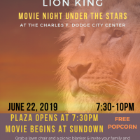 """""""The Lion King"""" Under the Stars! Movie Night on the Plaza"""