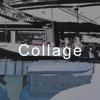 Collage Group Exhibition at Arts Warehouse