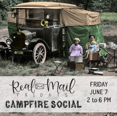 Real Mail Friday: Campfire Social