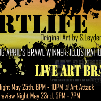ARTLIFE: Opening Night & Art Brawl Art Walk