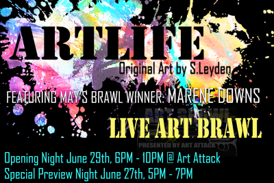 ARTLIFE: Closing Night and Art Brawl