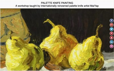 Palette Knife Painting Workshop with artist MaiYap