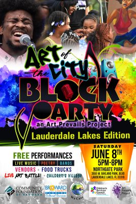 Art of the City: Blocky Party • Lauderdale Lakes Edition