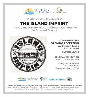 The Island Imprint Exhibit