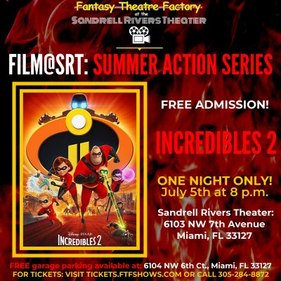 Film@SRT: Incredibles 2