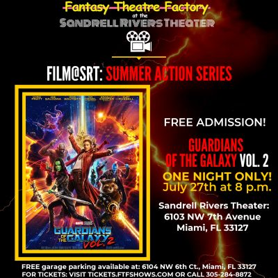 "Film@SRT: ""Guardians of the Galaxy Vol. 2"""