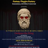 Summer Play Reading Series • Oedipus the King