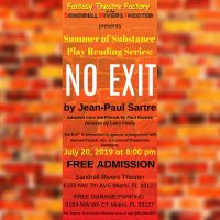 Summer Play Reading Series: No Exit