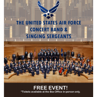 Bailey Hall Mainstage Presents: The United States Air Force Concert Band And Singing Sergeants