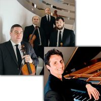 Amernet String Quartet with Jure Rozman at Bailey Hall