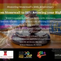 From Stonewall to HIV: Knowing Your Rights Community Dialogue