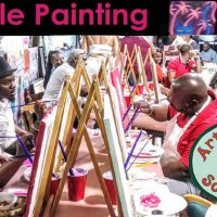 Freestyle Paint and Sip Session • Arts and Crafts Social Club