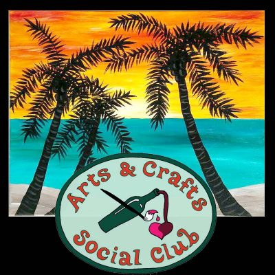 "BYOB Painting Class ""Ocean Sunrise"" • Arts and C..."