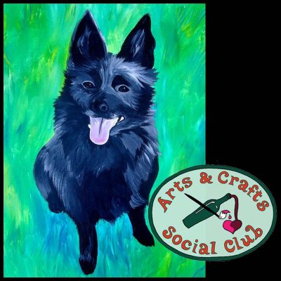 BYOB Painting Class Paint Your Pet • Arts and Crafts Social Club