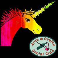 "BYOB BLACKLIGHT/Glow Paint Class ""Rainbow Unicorn"" • Arts and Crafts Social Club"