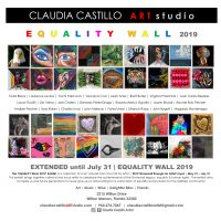 EQUALITY WALL 2019 Exhibit | Stonewall Through an Artist's Eyes