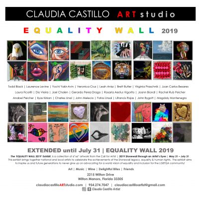 EQUALITY WALL 2019 Exhibit | Stonewall Through an ...