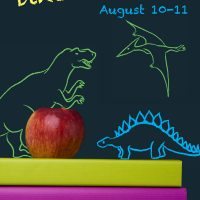 Back 2 School Dino Weekend at Flamingo Gardens