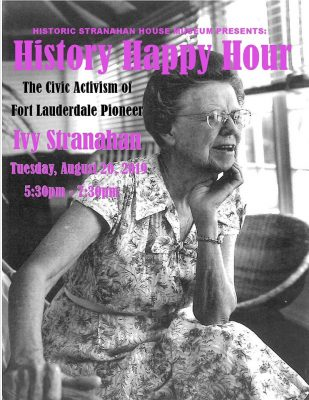 History Happy Hour: The Civic Activism of Ivy Stra...