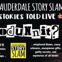 Fort Lauderdale Story Slam: Whodunnit?!?