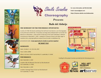 Baile del Alebrije Choreography Workshop