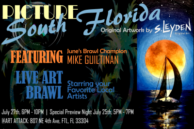 Picture South Florida: Opening Night & Art Bra...