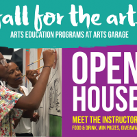 Fall for the Arts Open House at Arts Garage