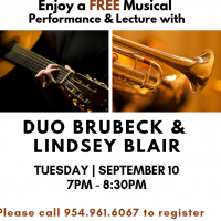 Duo Brubeck and Lindsey Blair at Studio 18 in the Pines