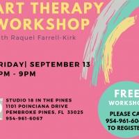 Art Therapy Workshop at Studio 18 in the Pines