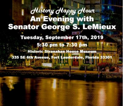 History Happy Hour with Senator George S. LeMieux