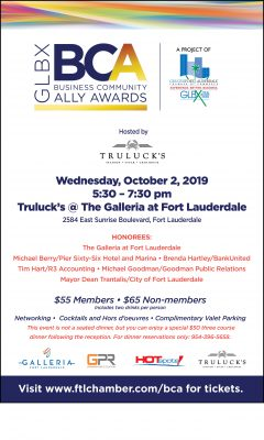 Second Annual GLBX Business Community Ally Awards