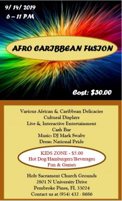 Afro Caribbean Fusion
