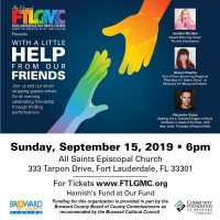 "Ft Lauderdale Gay Men's Chorus Presents ""With A Little Help From Our Friends"""