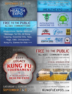 Free Coral Springs Health Expo and Kung Fu Tournam...