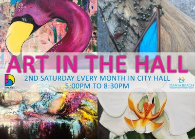 Dania After Dark: Art in the Hall