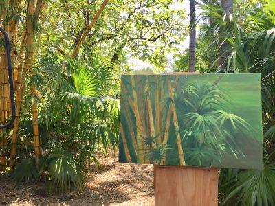 """Art Exhibition: """"Painting in the Garden"""" by Gaspar Saldanha"""