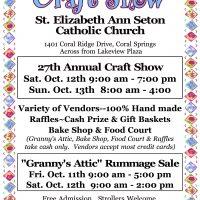 St. Elizabeth Ann Seton Annual Craft Show