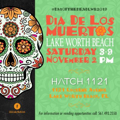 Dia De Los Muertos Lake Worth Beach 2019