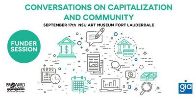 Funder Session: Conversations on Capitalization and Community Workshop
