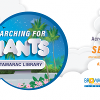 Searching for Giants at Tamarac Library