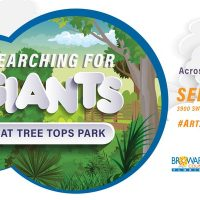 Searching for Giants at Tree Tops Park