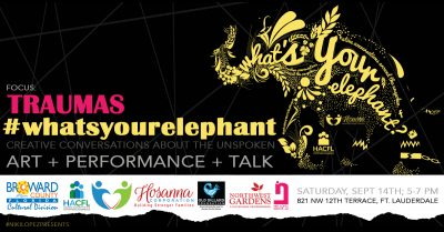 What's Your Elephant: Art + Performance + Talk