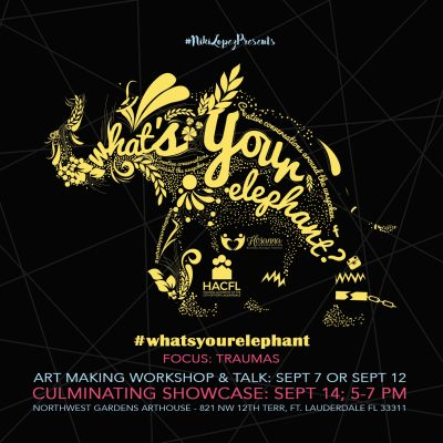 """""""What's Your Elephant"""" Art Making Workshop"""