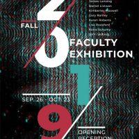 2019 Fall Faculty Exhibition