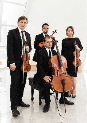 Haller Foundation Serenades @ Sunset: Symphony of the Americas Con Brio String Quartet & Friends