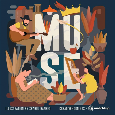 CreativeMornings | Eric Vaughn-Flam: Muse