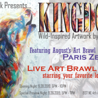 Kingdom: Opening Night and Art Brawl